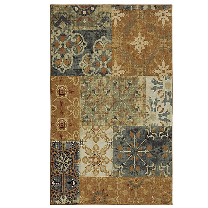 Alternate image 1 for Mohawk Home Harmonic Patch 5-Foot x 7-Foot Multicolor Area Rug