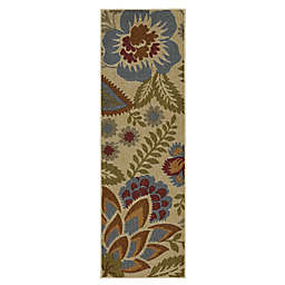 Mohawk Home® Crewel Floral Spice 1-Foot  8-Inch x 5-Foot Multicolor Area Rug