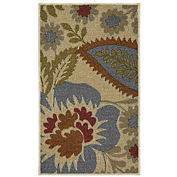 Mohawk Home® Crewel Floral Spice 1-Foot 6-Inch x 2-Foot 6-Inch  Multicolor Accent Rug
