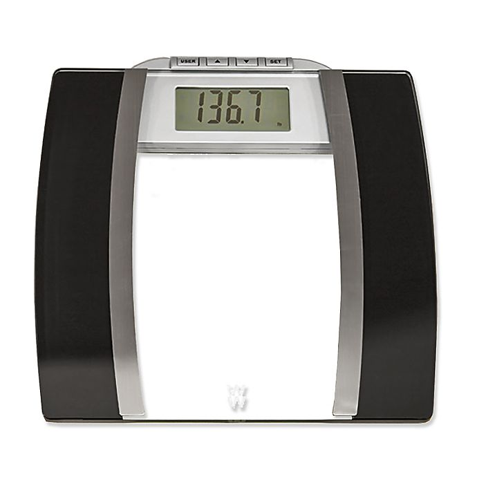 Alternate image 1 for Weight Watchers® by Conair™ Glass Body Analysis Bathroom Scale