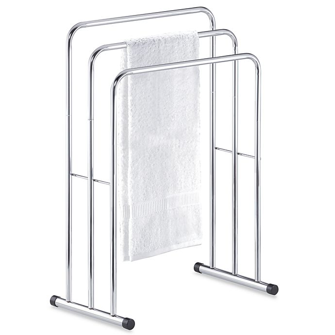 Alternate image 1 for Three-Tier Free Standing Towel Stand Valet