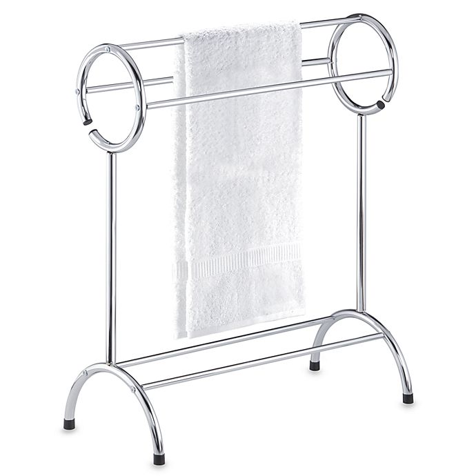 Circle Top Free Standing Towel Stand