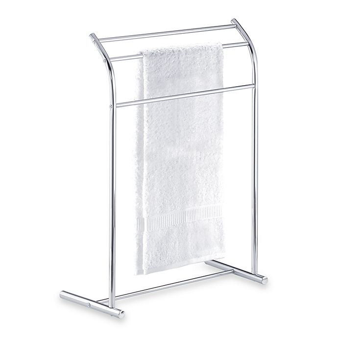 Alternate image 1 for Three-Tier Curved Free Standing Towel Stand