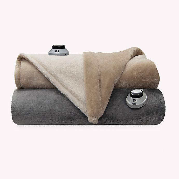 Alternate image 1 for Therapedic® Sherpa Reversible Warming Blanket