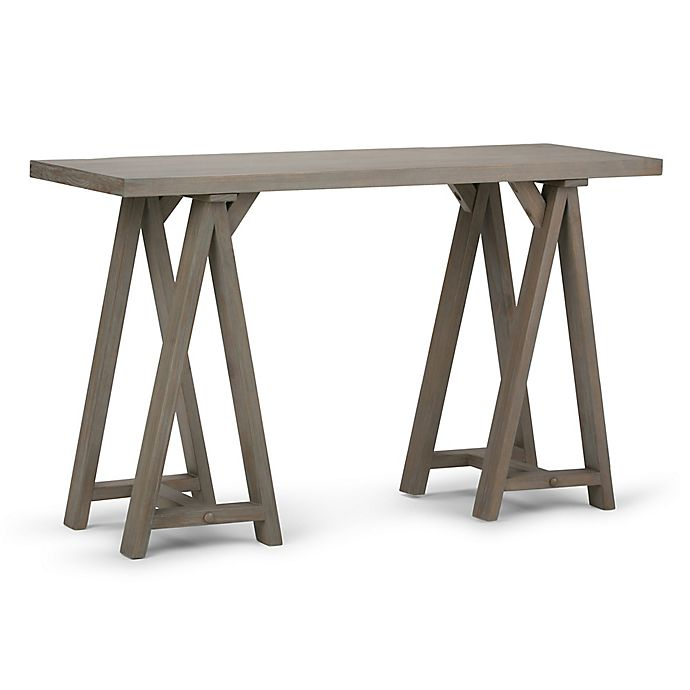 Simpli Home Sawhorse 50 Inch Console Sofa Table Bed Bath Beyond