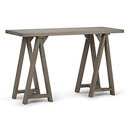 Simpli Home Sawhorse 50-Inch Console Sofa Table