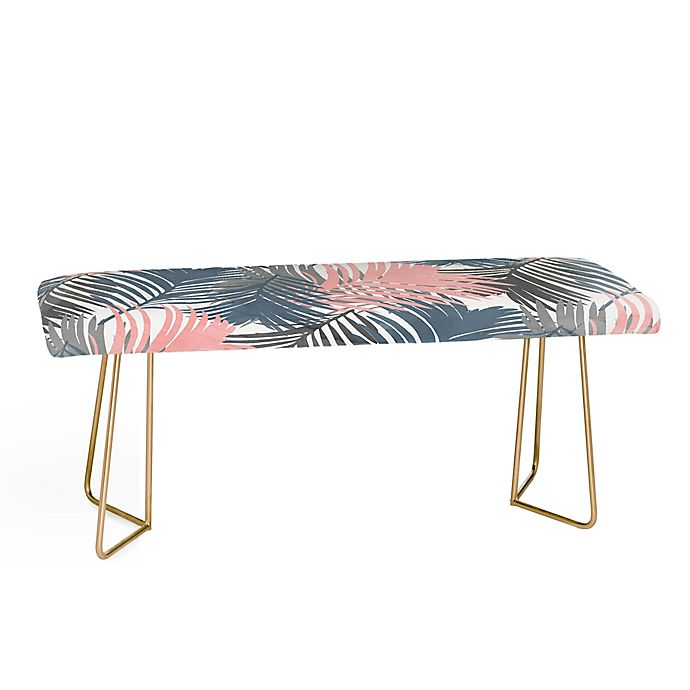 Alternate image 1 for Deny Designs Emanuela Carratoni Jungle Bench in Pink