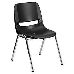 Flash Furniture Heavy Duty 22-Inch Plastic Stackable Chair