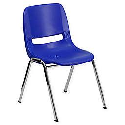 Flash Furniture Plastic Ergonomic Stack Chair
