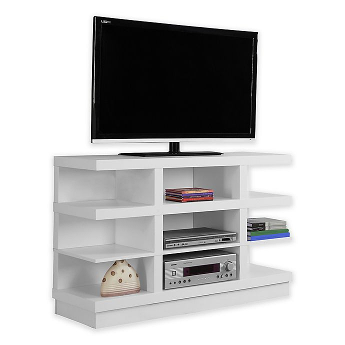 Alternate image 1 for Monarch Specialties 48-Inch 9-Shelf TV Stand