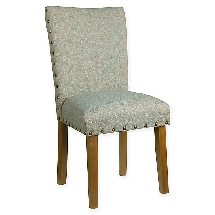Fine Homepop Heathered Tweed Parsons Dining Chair Bed Bath Beyond Lamtechconsult Wood Chair Design Ideas Lamtechconsultcom