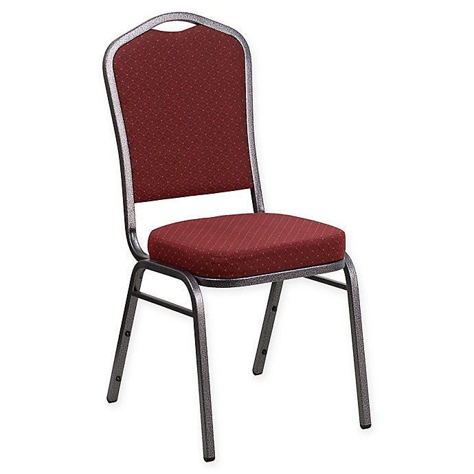 Alternate image 1 for Flash Furniture Upholstered Banquet Chair in Burgundy