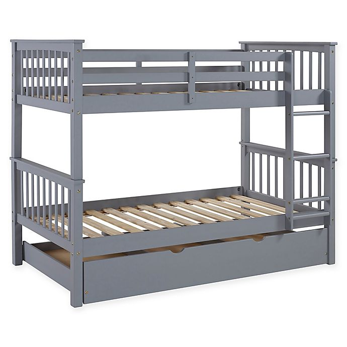 Alternate image 1 for Forest Gate™ Charlotte Twin Bunk Bed with Trundle