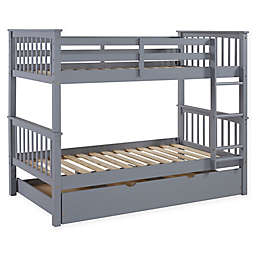Forest Gate™ Charlotte Twin Bunk Bed with Trundle