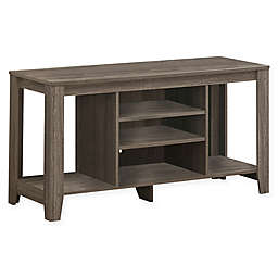 Monarch Specialties 48-Inch TV Stand in Dark Taupe