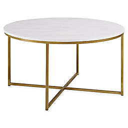 "Forest Gate  36"" Connie Modern Glam Coffee Table"