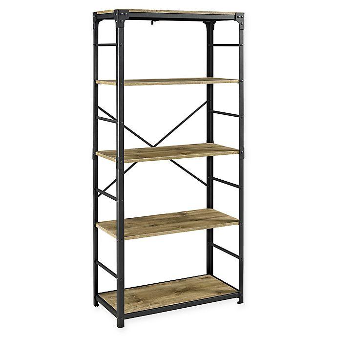 Alternate image 1 for Forest Gate™ Wheatland 5-Shelf Bookcase