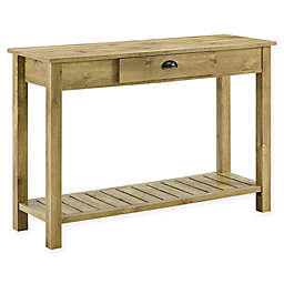 """Forest Gate 48"""" Farmhouse Wood Entry Console Table"""