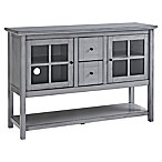 Forest Gate 52  Jackson Farmhouse Wood Console Buffet TV Stand in Antique Grey