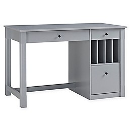 Forest Gate Sophia Modern Home Office Wood Storage Computer Desk