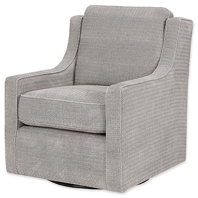 Alternate image 1 for Madison Park Harris Swivel Chair