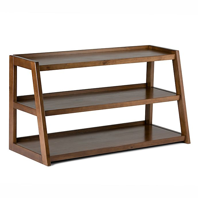 Alternate image 1 for Simpli Home Sawhorse 48-Inch TV Stand