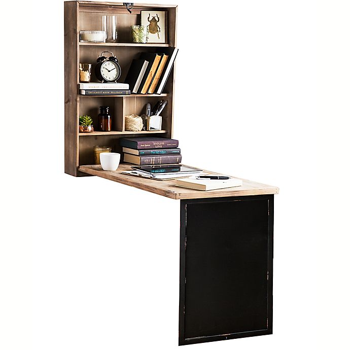 Rustic Home Wall Mounted Fold Away Desk