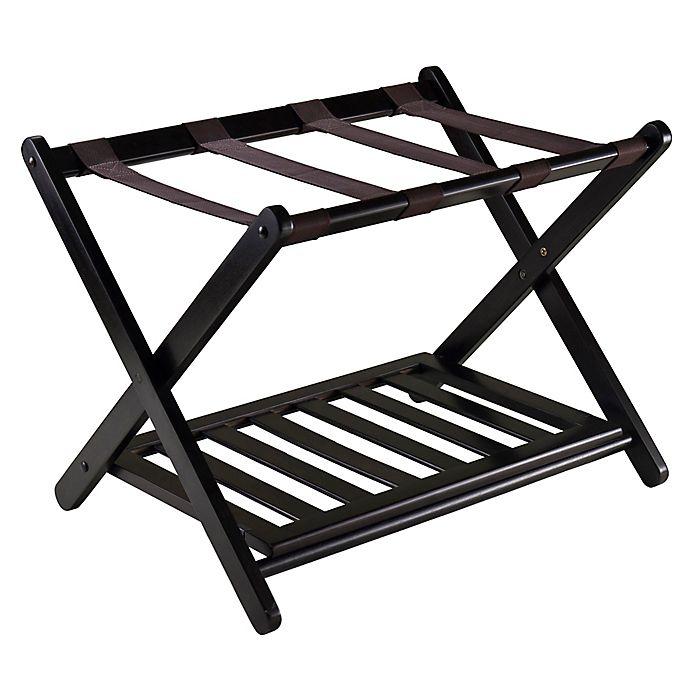 Alternate image 1 for Winsome Trading Reese Luggage Rack in Espresso