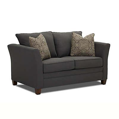Klaussner® Taylor Twin Sofa Sleeper in Grey Flannel