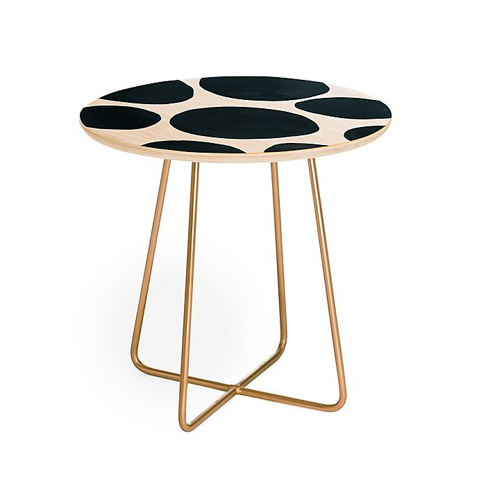 Alternate image 1 for Deny Designs Elena Blanco Blobs Side Table in Green