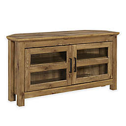 Forest Gate™ Logan 44-Inch Corner TV Stand in Barnwood