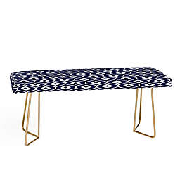 Deny Designs Aimee St. Hil Leela Bench in Blue