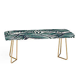 Deny Designs Zoe Wodarz The Palm Hotel Bench in Green