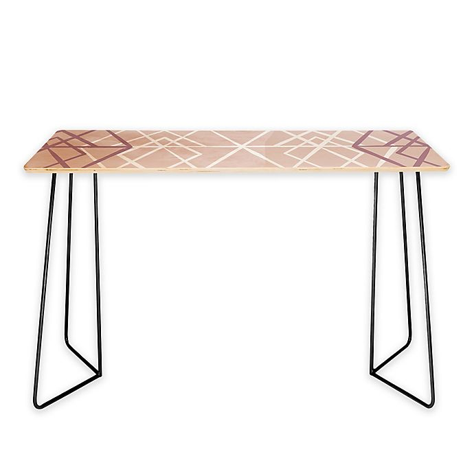 Alternate image 1 for Deny Designs Mareike Boehmer Geometric Sketches 2 Desk