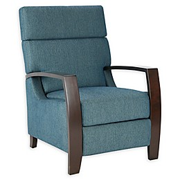 Madison Park Katniss Push-Back Recliner in Blue