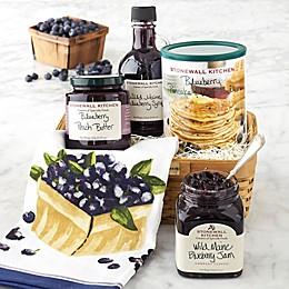 Stonewall Kitchen Blueberry Breakfast Gift Basket