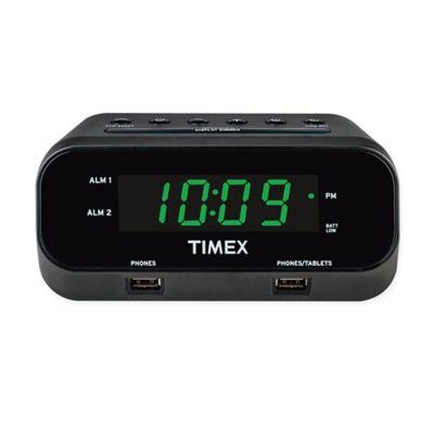 Rediset Dual Alarm Clock With Usb