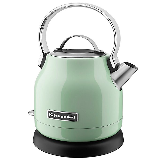 Alternate image 1 for KitchenAid® 1.25-Liter Electric Kettle in Pistachio