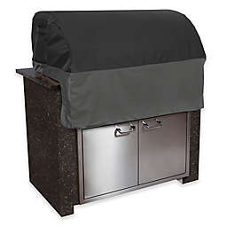Classic Accessories® Veranda FadeSafe Patio Built in Grill Top Cover in Black/Grey
