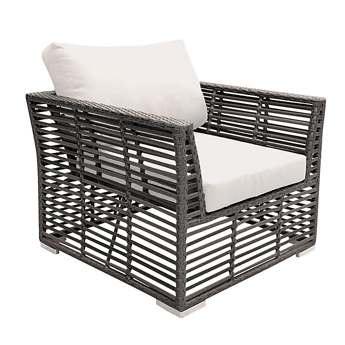 Alternate image 1 for Panama Jack Graphite Outdoor Lounge Chair in Grey