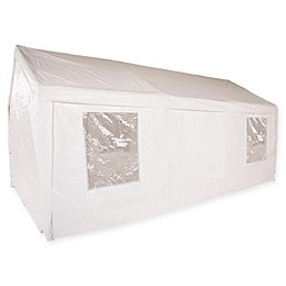 Impact Canopy 10-Foot x 20-Foot Carport Canopy in White