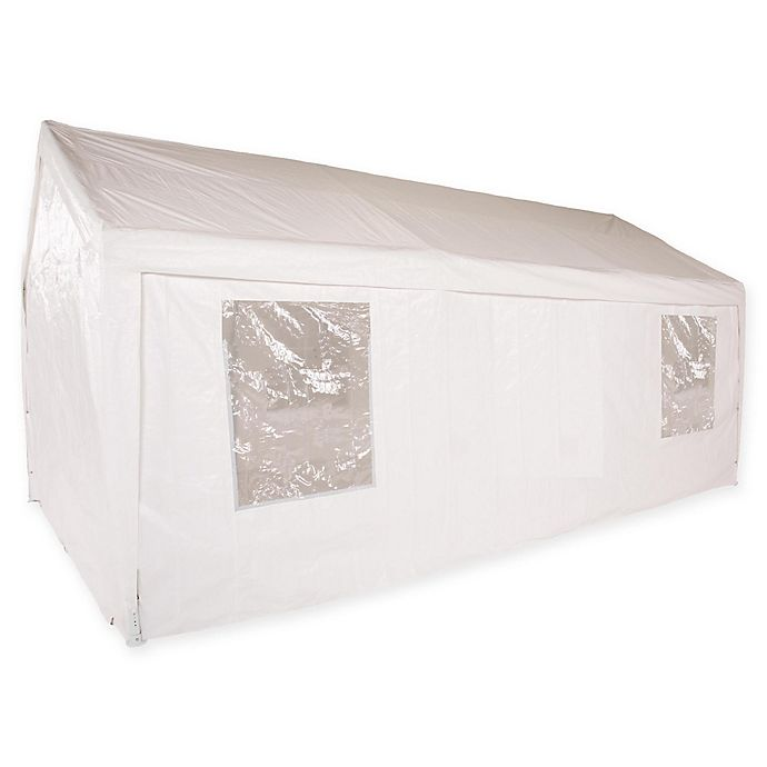 Alternate image 1 for Impact Canopy 10-Foot x 20-Foot Carport Canopy in White