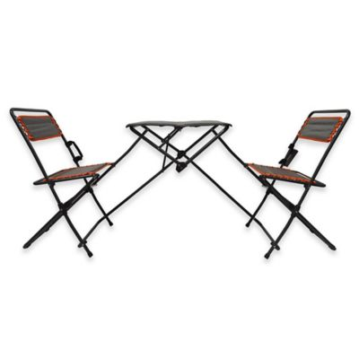 Folding Table And Bistro Chairs Tailgate Set Bed Bath