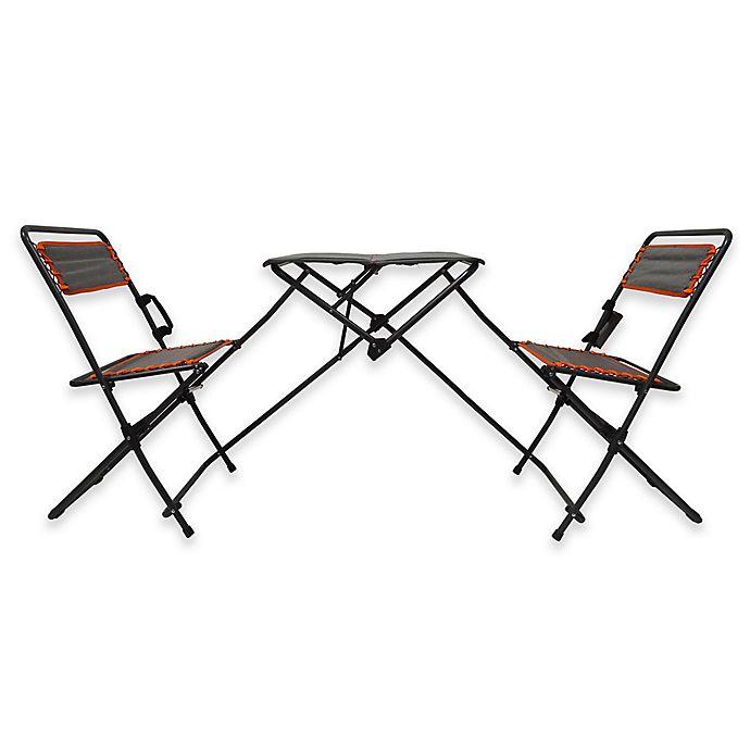 Terrific Folding Table And Bistro Chairs Tailgate Set Bed Bath Beyond Creativecarmelina Interior Chair Design Creativecarmelinacom
