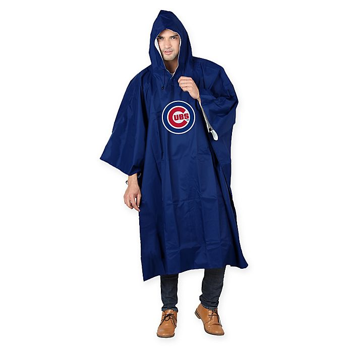 Alternate image 1 for MLB Chicago Cubs Poncho