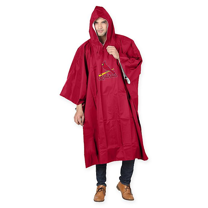 Alternate image 1 for MLB St. Louis Cardinals Poncho