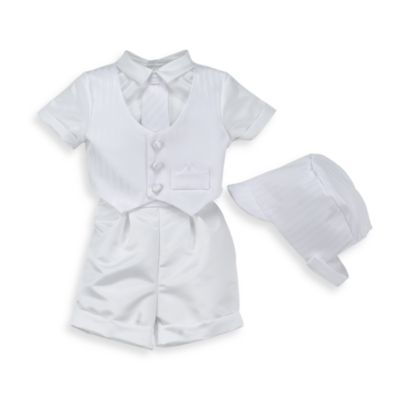 e69ad69cf4d0 Satin Christening Pant   Vest Set by Lauren Madison