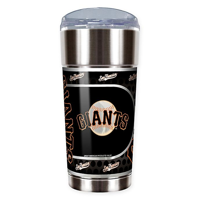 Alternate image 1 for MLB San Francisco Giants 24 oz. Vacuum Insulated Stainless Steel EAGLE Party Cup