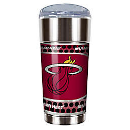 NBA Miami Heat 24 oz. Vacuum Insulated Stainless Steel EAGLE Tumbler with Lid