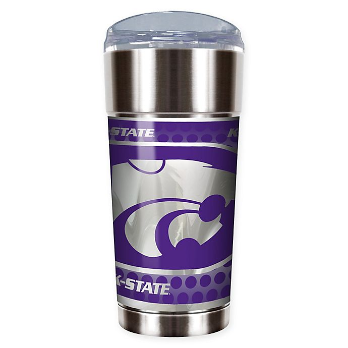 Alternate image 1 for Kansas State University Wildcats 24 oz. Vacuum Insulated Stainless Steel EAGLE Party Cup